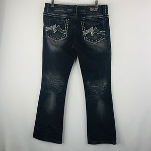 Miss me Sunny boot back jeans SZ:31